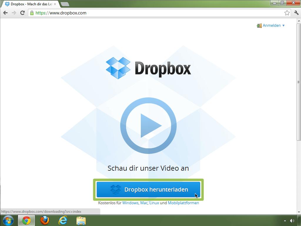 dropbox von a-z: dropbox installieren - schritt-für-schritt, Einladung